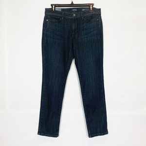J. Jill NWT Slim Ankle Jeans In Nightfall Wash